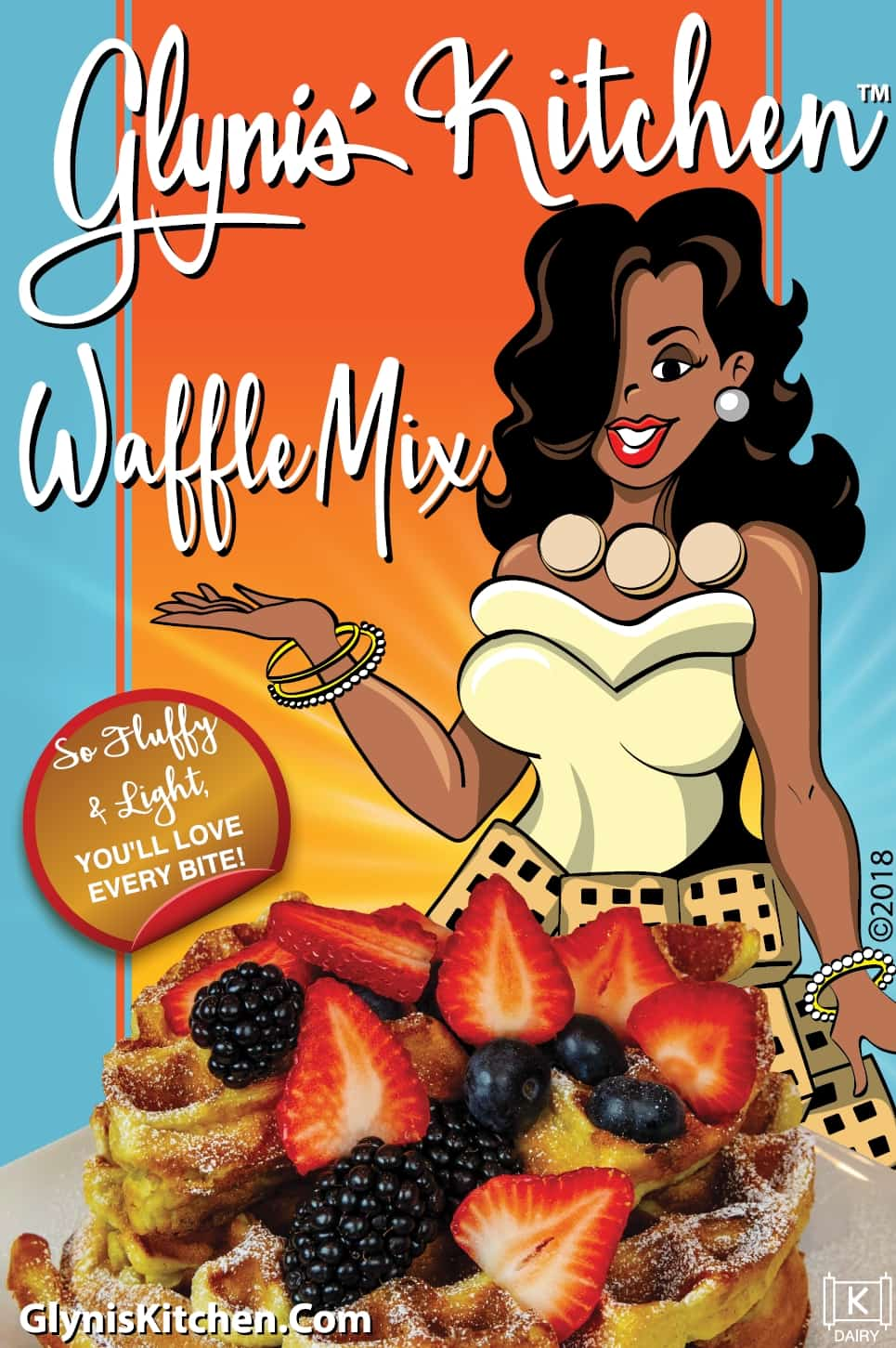 Glynis' Kitchen Waffle Mix