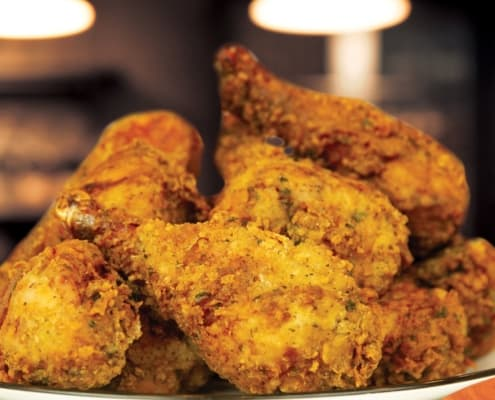 Fried Chicken using Glynis' Poultry Coating Mix