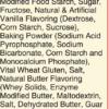 Scratch Mix Ingredients