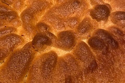 Sour Cream Vanilla Cake