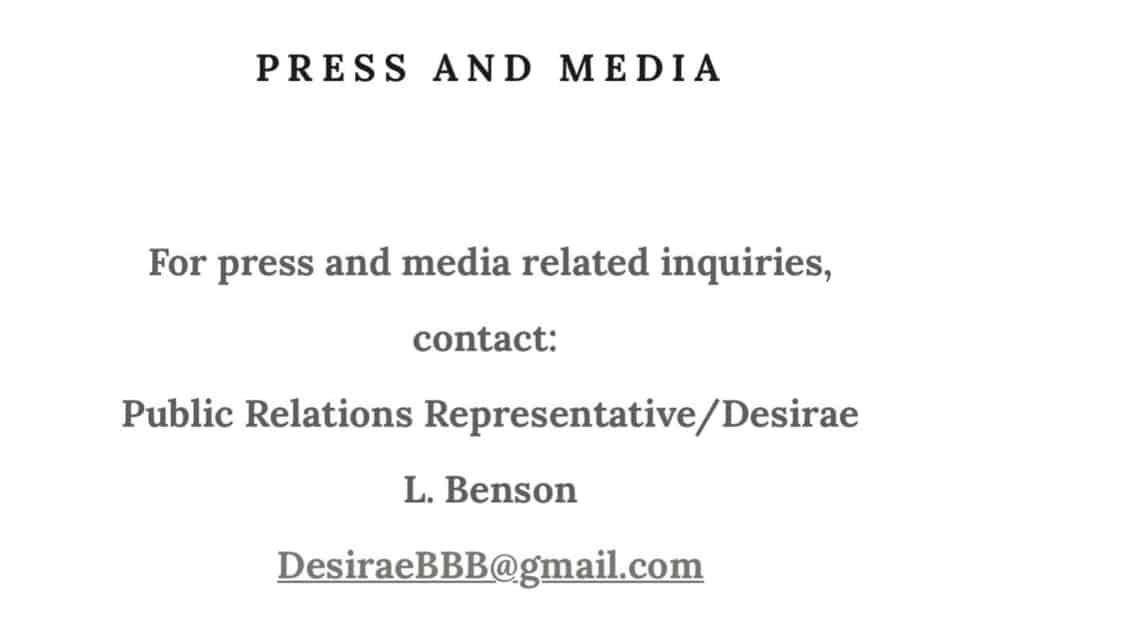Desirae Benson